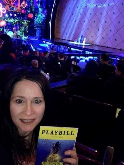 Palace Theatre (Broadway), sección: R Orch, fila: L