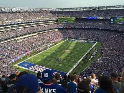 MetLife Stadium, sección: 347, fila: 23, asiento: 13