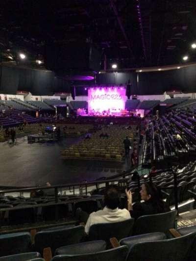 Valley View Casino Center, sección: L18a, fila: 4, asiento: 4