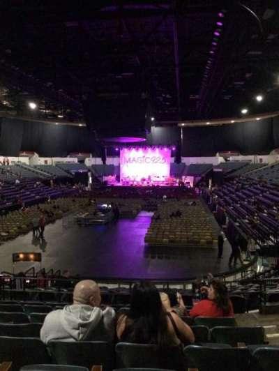 Valley View Casino Center, sección: L18b, fila: 8, asiento: 3