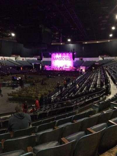 Valley View Casino Center, sección: L17b, fila: 6, asiento: 8
