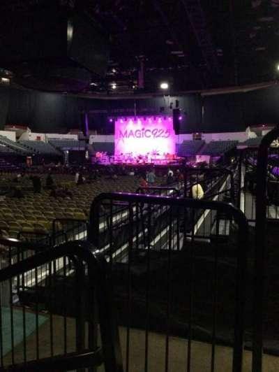 Valley View Casino Center, sección: LL17, fila: 6, asiento: 1