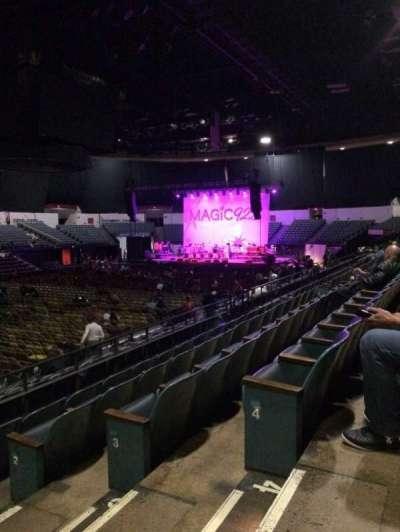 Valley View Casino Center, sección: L16, fila: 5, asiento: 2