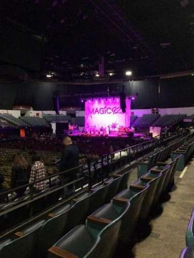 Valley View Casino Center, sección: L15, fila: 3, asiento: 9