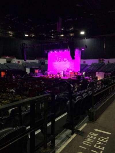 Valley View Casino Center, sección: L14, fila: 1, asiento: 3