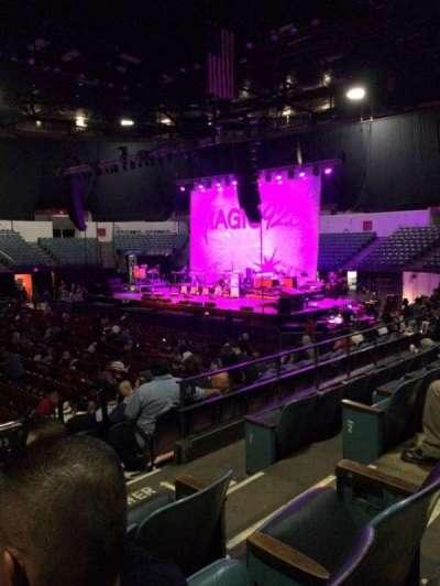 Valley View Casino Center, sección: L13, fila: 4, asiento: 4
