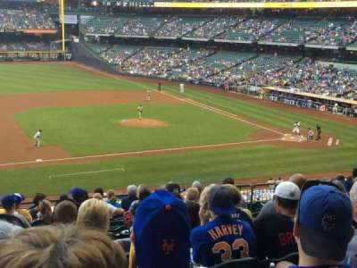 Miller Park, sección: 225, fila: 13, asiento: 9