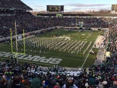 Spartan Stadium, sección: 14, fila: 56, asiento: 24