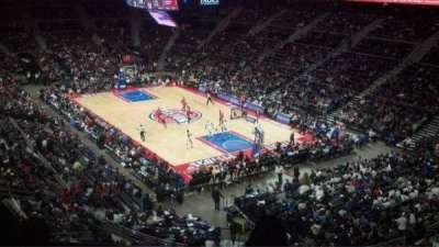The Palace of Auburn Hills, sección: 226, fila: 10, asiento: 2