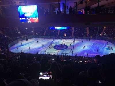Madison Square Garden, sección: 225, fila: 22