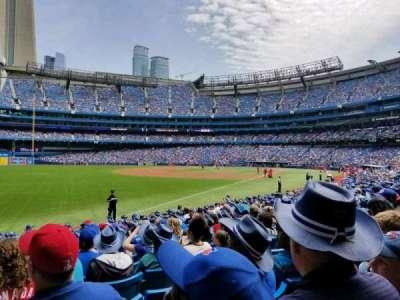 Rogers Centre, sección: 130D, fila: 17, asiento: 2