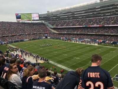 Soldier Field, sección: 331, fila: 7, asiento: 13