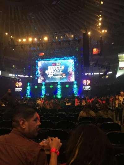 Oracle Arena, sección: D, fila: 7, asiento: 1