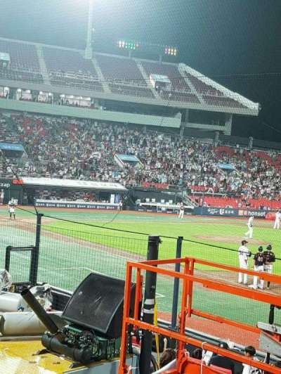 KT Wiz Park, sección: 108, fila: 5, asiento: 56