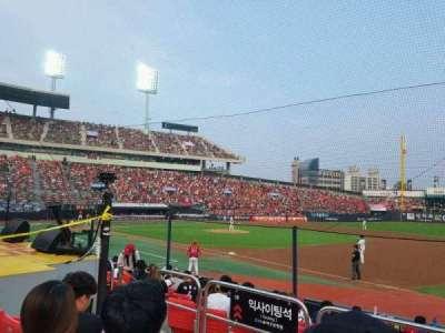 KT Wiz Park, sección: 108, fila: 4, asiento: 41