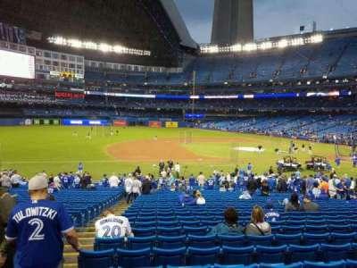 Rogers Centre, sección: 128R, fila: 31, asiento: 2