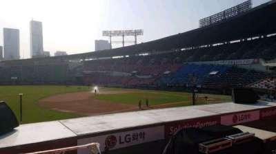 Jamsil Baseball Stadium, sección: 221, fila: 3, asiento: 22