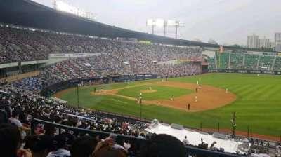 Jamsil Baseball Stadium, sección: 306, fila: 4, asiento: 46