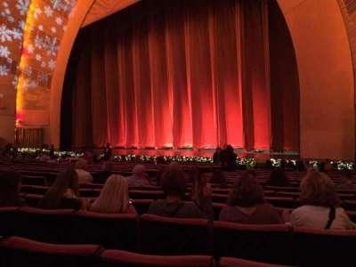 Radio City Music Hall, sección: Orchestra 2, fila: SS, asiento: 204