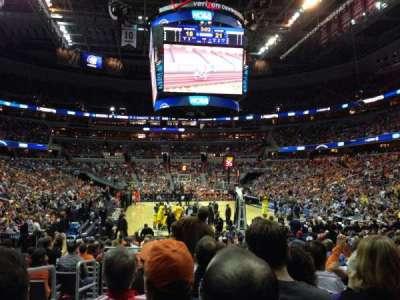 Capital One Arena, sección: 105, fila: K, asiento: 2