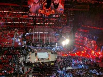 Little Caesars Arena, sección: 212, fila: 1, asiento: 13