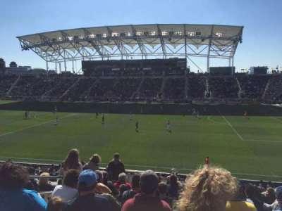 Talen Energy Stadium, sección: 124, fila: X, asiento: 16