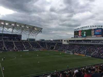 Talen Energy Stadium, sección: 127, fila: AA, asiento: 18