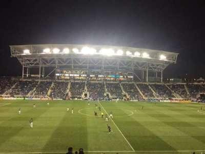 Talen Energy Stadium, sección: 128, fila: Y, asiento: 1