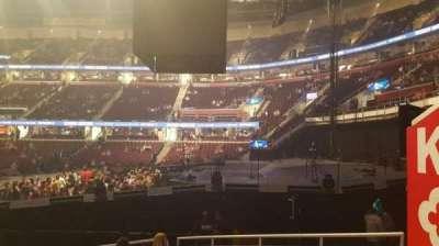 Quicken Loans Arena, sección: 111, fila: 11, asiento: 16