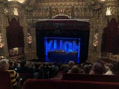 Oriental Theatre, sección: Balcrc, fila: M, asiento: 320