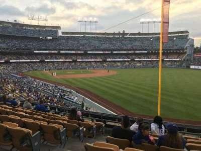 Dodger Stadium, sección: 164LG, fila: H, asiento: 3