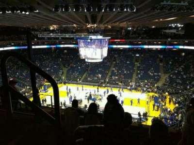 Oracle Arena, sección: 231, fila: 6, asiento: 9