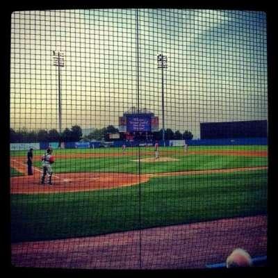 Richmond County Bank Ballpark, sección: 10, fila: D, asiento: 5