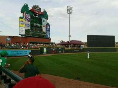 Fifth Third Field (Dayton), sección: 116, fila: 3, asiento: 15,16