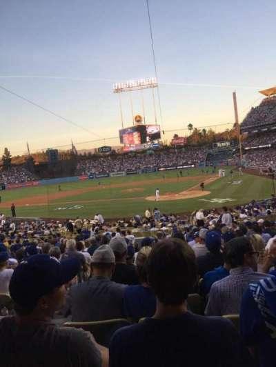 Dodger Stadium, sección: 5FD, fila: U, asiento: 12