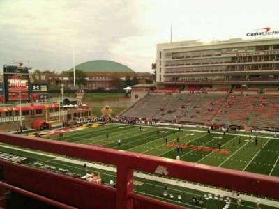 Maryland Stadium, sección: 207, fila: a, asiento: 17