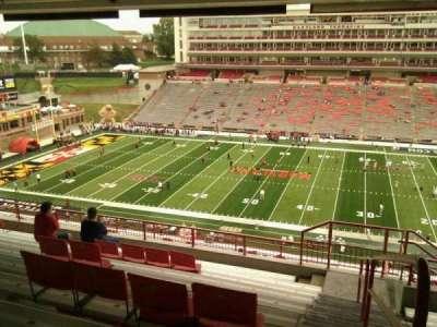 Maryland Stadium, sección: 207, fila: s, asiento: 25
