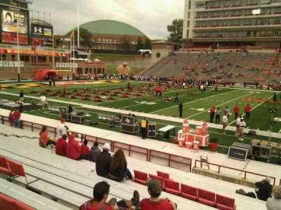 Maryland Stadium, sección: 5, fila: t, asiento: 29