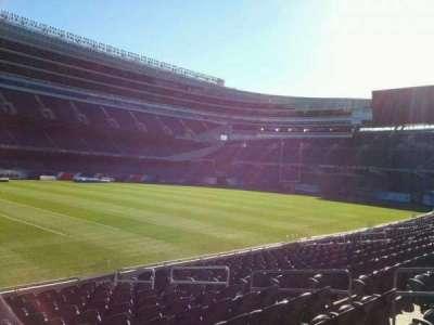 Soldier Field, sección: 142, fila: 13, asiento: 8