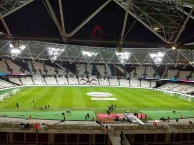 London Stadium sección 206