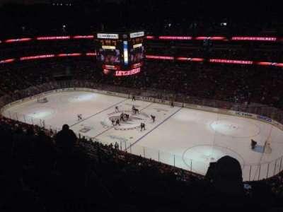 Honda Center, sección: 408, fila: L, asiento: 4