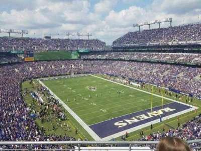 M&T Bank Stadium, sección: 517, fila: 3, asiento: 8