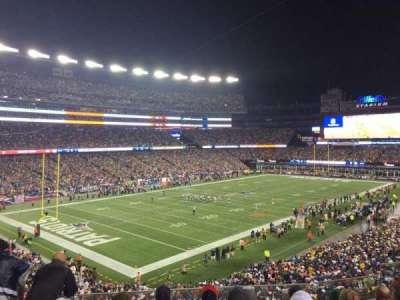 Gillette Stadium, sección: 238, fila: 6, asiento: 7