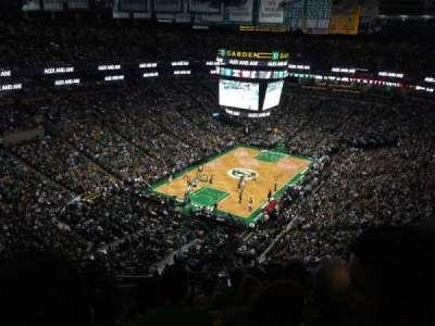TD Garden, sección: BAL 306, fila: 12, asiento: 21