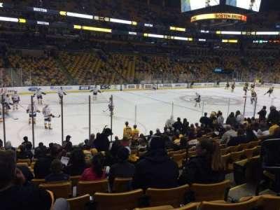 TD Garden, sección: Loge 4, fila: 14, asiento: 4