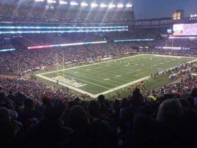 Gillette Stadium, sección: 238, fila: 26, asiento: 20