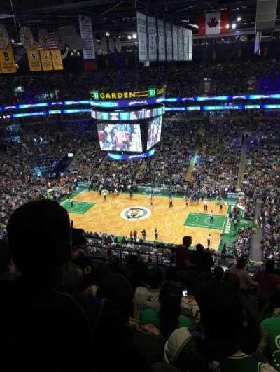 TD Garden, sección: Bal 314, fila: 14, asiento: 17