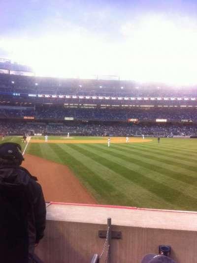 Yankee Stadium sección 107