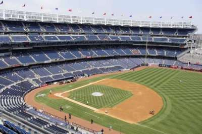 Yankee Stadium sección 412