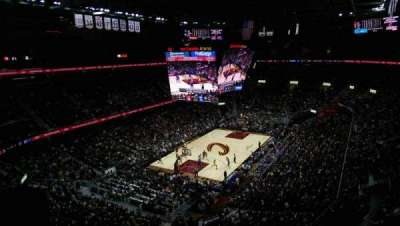 Quicken Loans Arena, sección: 220, fila: 6, asiento: 2